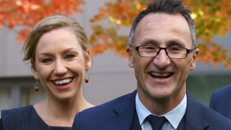 Greens announce $53b clean energy plan in Brisbane