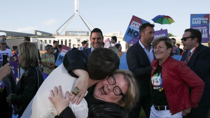Same-sex marriage legalised in Australia as Parliament passes historic law