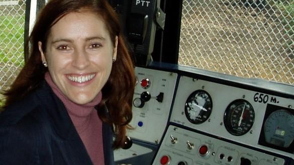 Kasey Edwards had to dye her hair brown to be taken seriously at work.