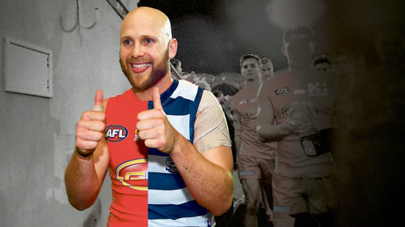 Cats whiskers: Gold Coast's Gary Ablett has asked to be traded.
