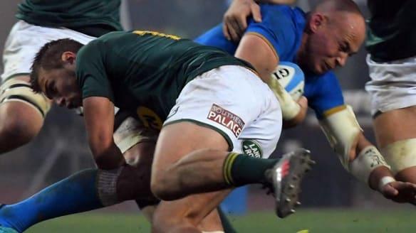 Springboks steamroll Italy to avenge 2016 loss
