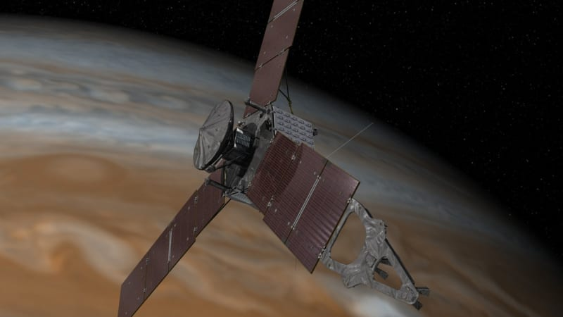 After five-year voyage, Juno space probe almost ready to ...