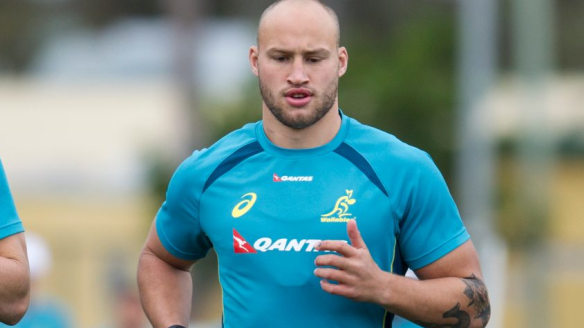 Billy Meakes (right) will be vying for a Wallabies debut.