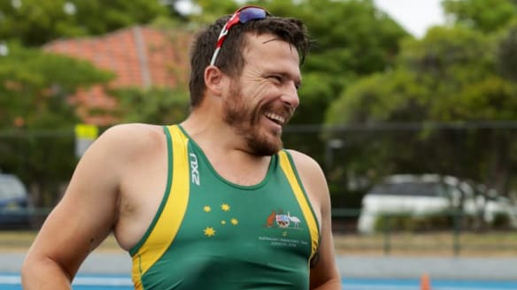 Champion wheelchair racer Kurt Fearnley backs Jake Lappin as future of the sport