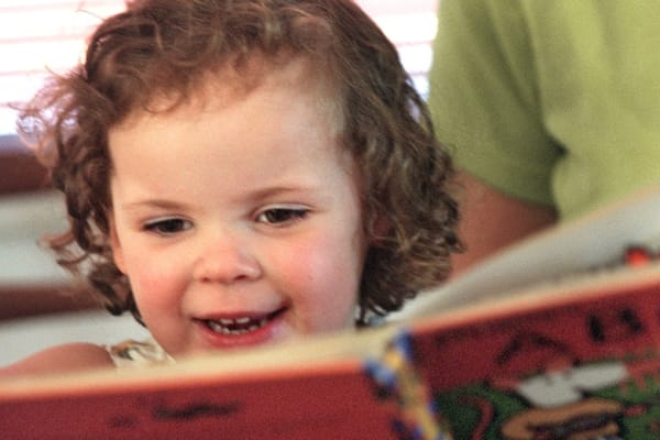 Why story time is better when dad's reading the book