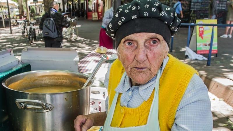 Canberra Soup Kitchen Lady