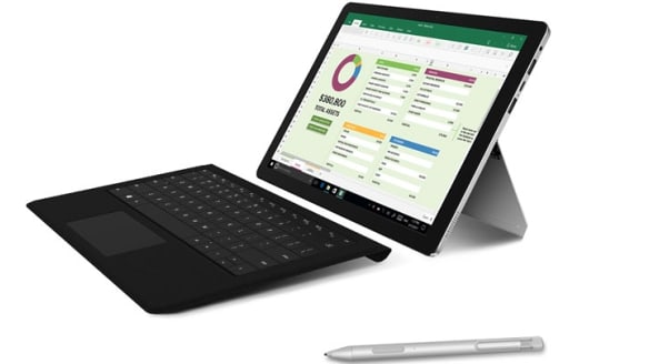 Hands on Chuwi SurBook hybrid tablet