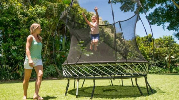 'No regrets' for inventor of $50m Springfree trampoline who sold out years ago