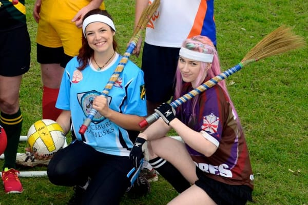Harry Potter's quidditch takes off in Melbourne