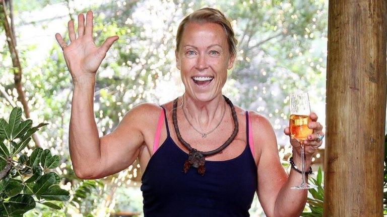 I M A Celebrity 2017 Lisa Curry Slams Untrue Reports About Fiance Mark Tabone