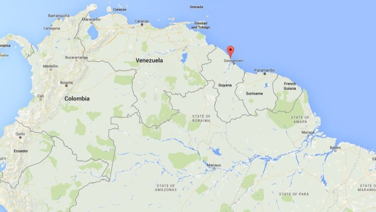 Google Maps a new source of anguish for Guyana-Venezuela ...