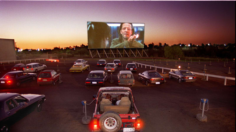 Curtain may close on an era as Coburg drive-in goes on the market