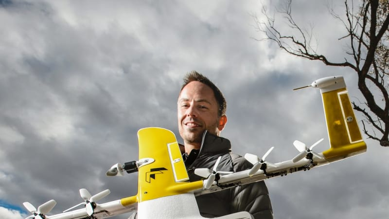 Drone delivery service to fly to Canberra's northern suburbs