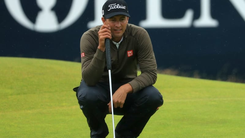Adam Scott To Play In 2016 Australian Open Pga Tour Event At Royal Sydney Golf Club