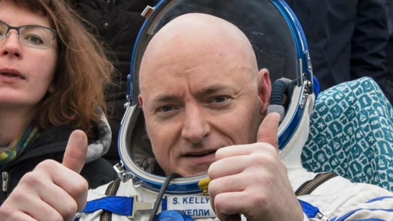NASA compares astronaut Scott Kelly to identical twin to help determine effects of space