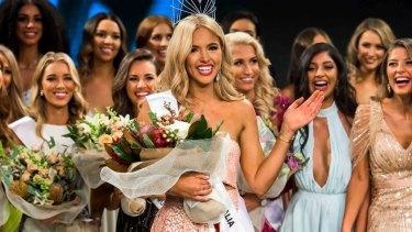 Miss Universe Australia Francesca Hung flashes more than