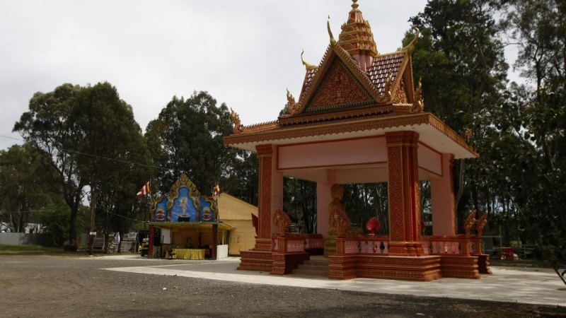 man sentenced for nail gun attack at buddhist temple in sydney. Black Bedroom Furniture Sets. Home Design Ideas