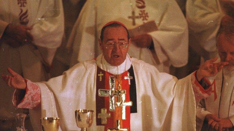 Disgraced Ballarat Bishop Mulkearns who protected