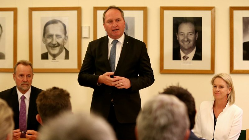 Coalition agreement: Barnaby Joyce's secrecy strengthens the right to know