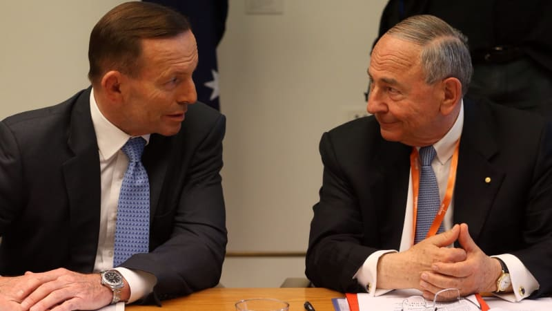 Climate change a UN-led ruse, says Tony Abbott's business adviser Maurice Newman