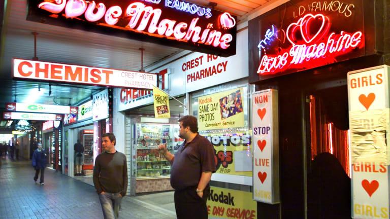 Live sex kings cross love machine