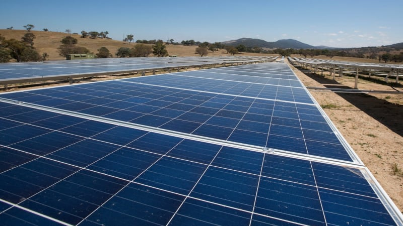 Check out Canberra's first 'solar highway'