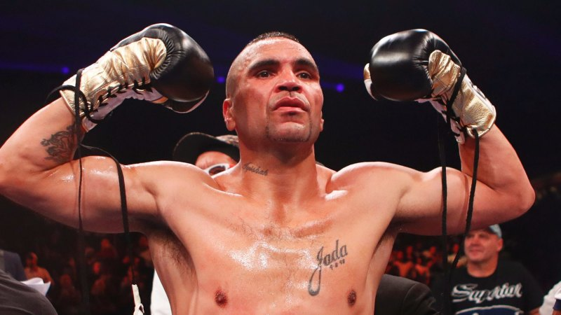 144359bb29b Anthony Mundine keeps Jeff Horn bout alive after KO of Tommy Browne