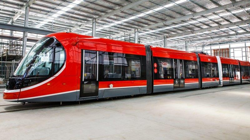 Canberra light rail: One tram a week to start arriving ...