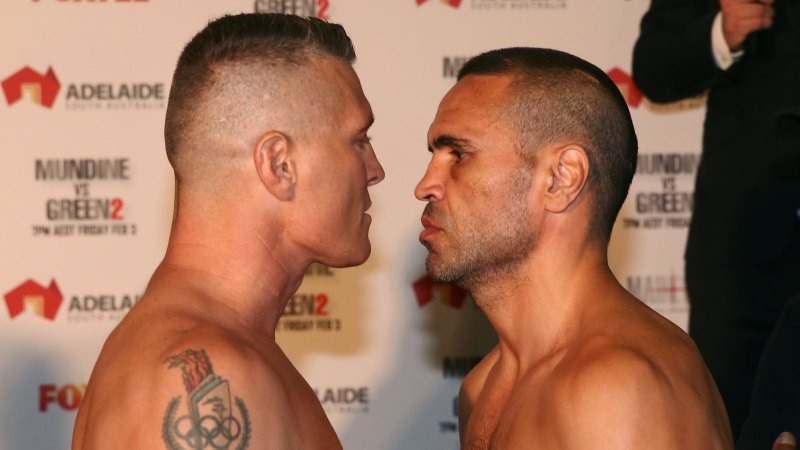 79760847d0a Live  Anthony Mundine v Danny Green at the Adelaide Oval