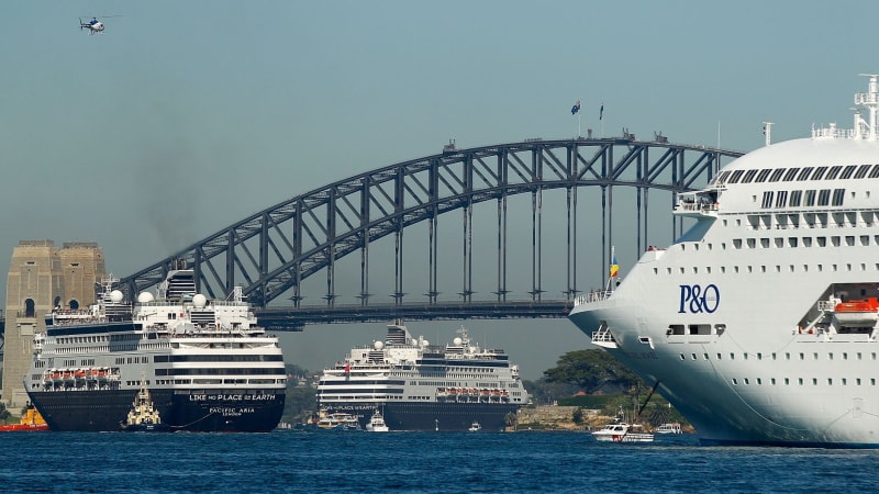 Cruise ships aren't a spectacle to celebrate, they are polluters