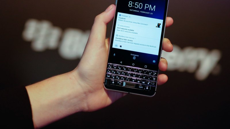 Blackberry is back, but have we learned to live without the