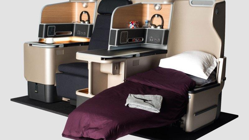 Qantas's new A330 Business Suite - the best seats