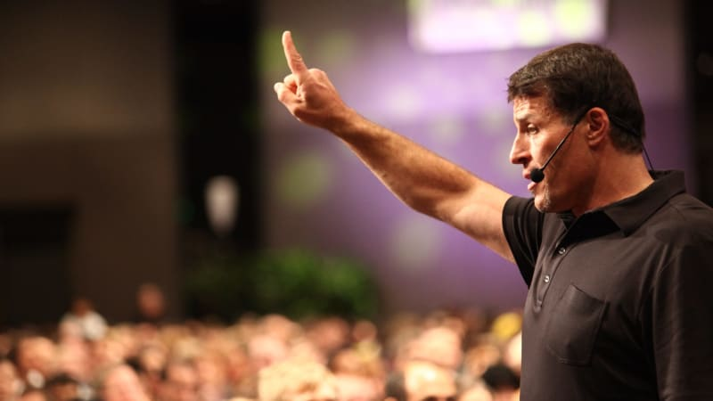 Tony Robbins explains what anyone can do every day, month and year to be more successful