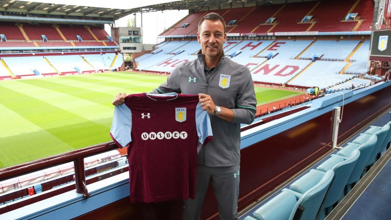 Aston villa signing john terry reveals he couldn 39 t face playing against chelsea for Aston swimming pool opening times