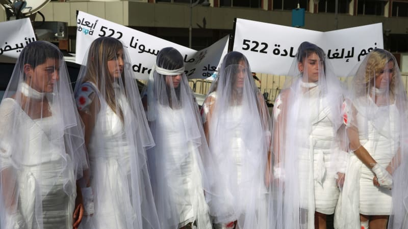 Lebanon repeals its 'marry your rapist' law