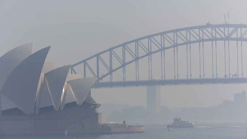 Air quality in Sydney at dangerous levels