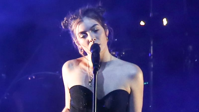 Lorde at centre of Grammys gender bias row after being denied a solo performance