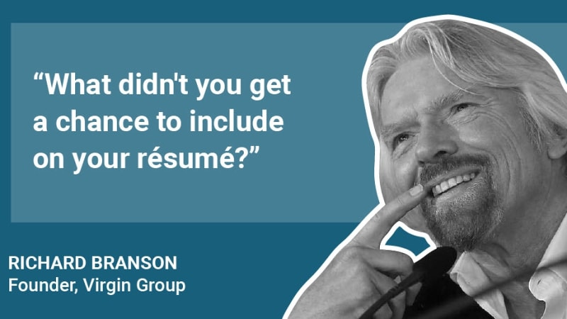 What Elon Musk, Richard Branson and 8 other successful people ask job candidates