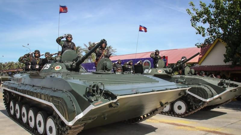 Australia Defends Cambodia Military Ties As Soldiers