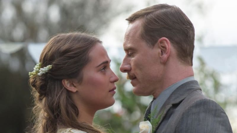 Don't ask Michael Fassbender about girlfriend and co-star Alicia Vikander