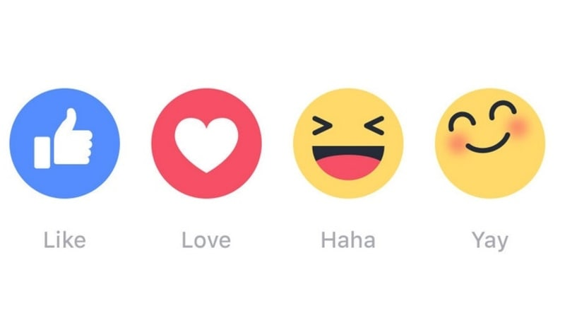 how to put emojis on facebook likes