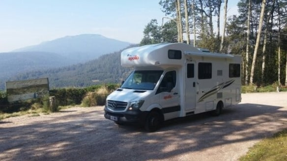 A reader is keen to go travelling solo in a campervan.
