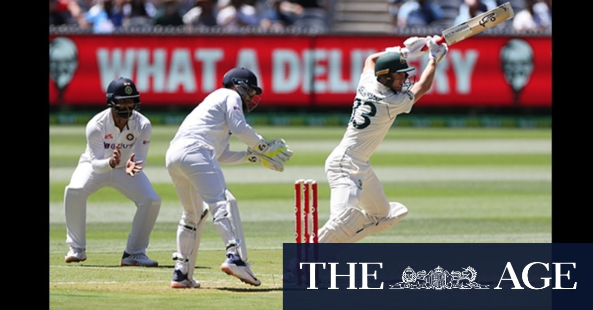 Tablet interactive: Boxing Day Test