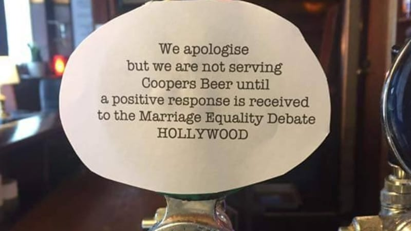 Pubs Boycott Coopers Beer Following Bible Society Marriage Equality
