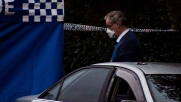 Police have closed of Griffiths Road in Newcastle after finding the body.