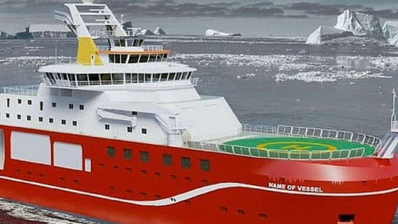 Boaty McBoatface runaway winner of online poll to name polar research vessel