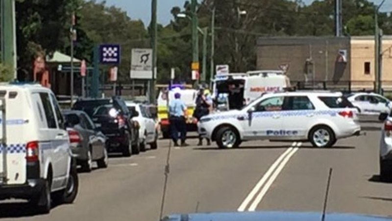Man shot dead at Quakers Hill police station