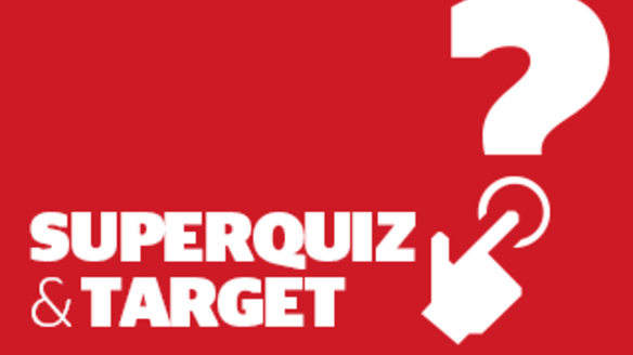 Superquiz and Target, Sunday October 22