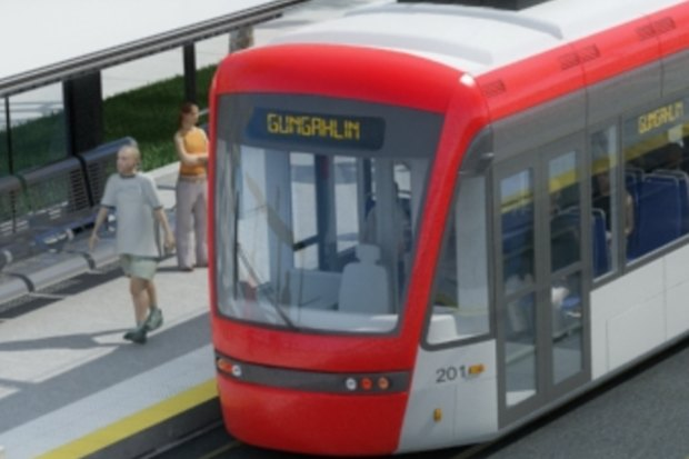 Canberra light rail on international stage
