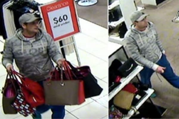 Brazen Thief Steals Seven Dkny Bags From Myer At Highpoint Ping Centre